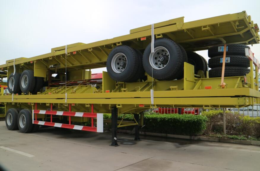 What Is Semi Flatbed Trailer Learn Key Specs Affect Capacity Dimension Height