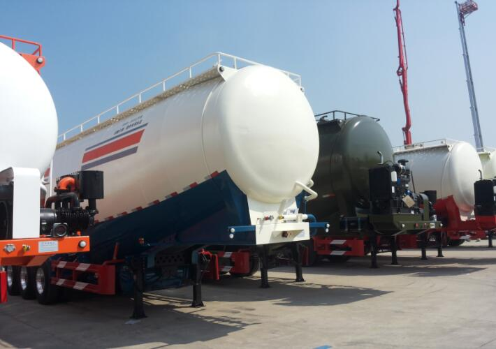 Cement/Powder Tank Trailer Guide – How to Choose Specs/Capacity/Dimension