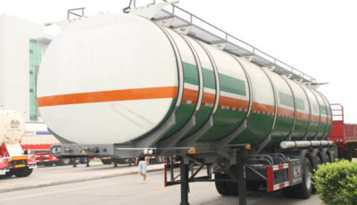 aluminium oil tank trailer
