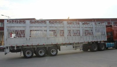aluminum animal livestock trailer