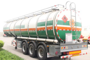crude oil tank trailer