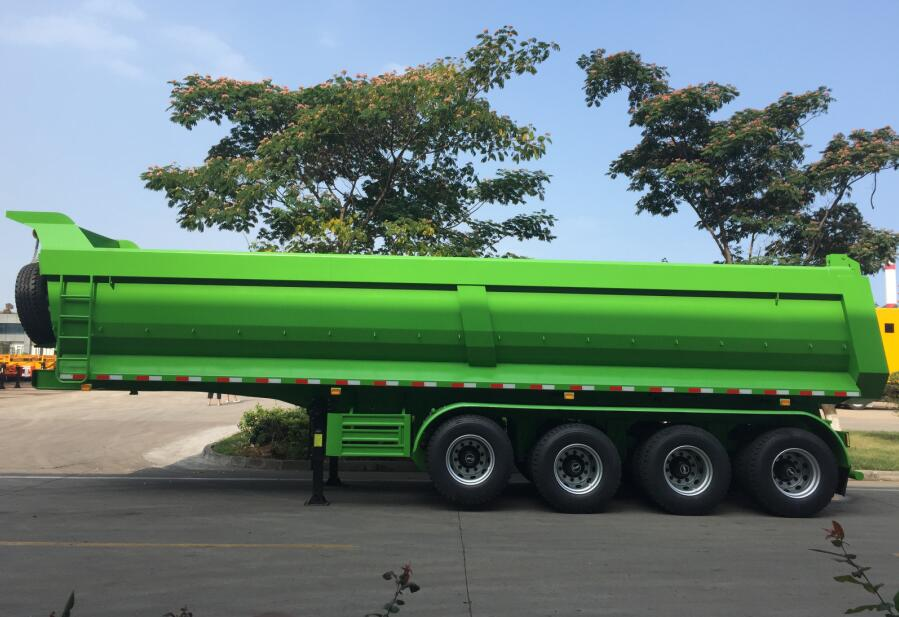What is a Semi Tipper Trailer? Learn Tipping Trailer Designs, Capacity and Specs