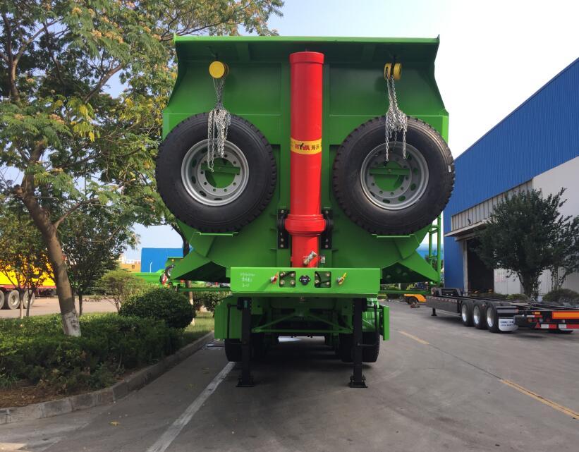 dumping trailer