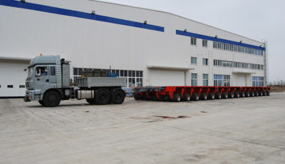 Hydraulic modular transporter