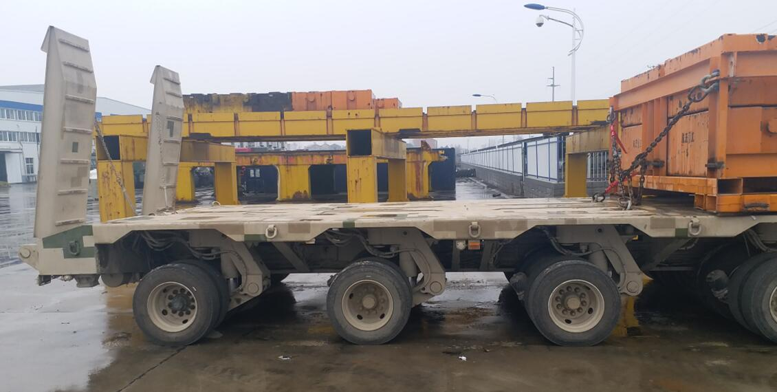 hydraulic lowbed trailer