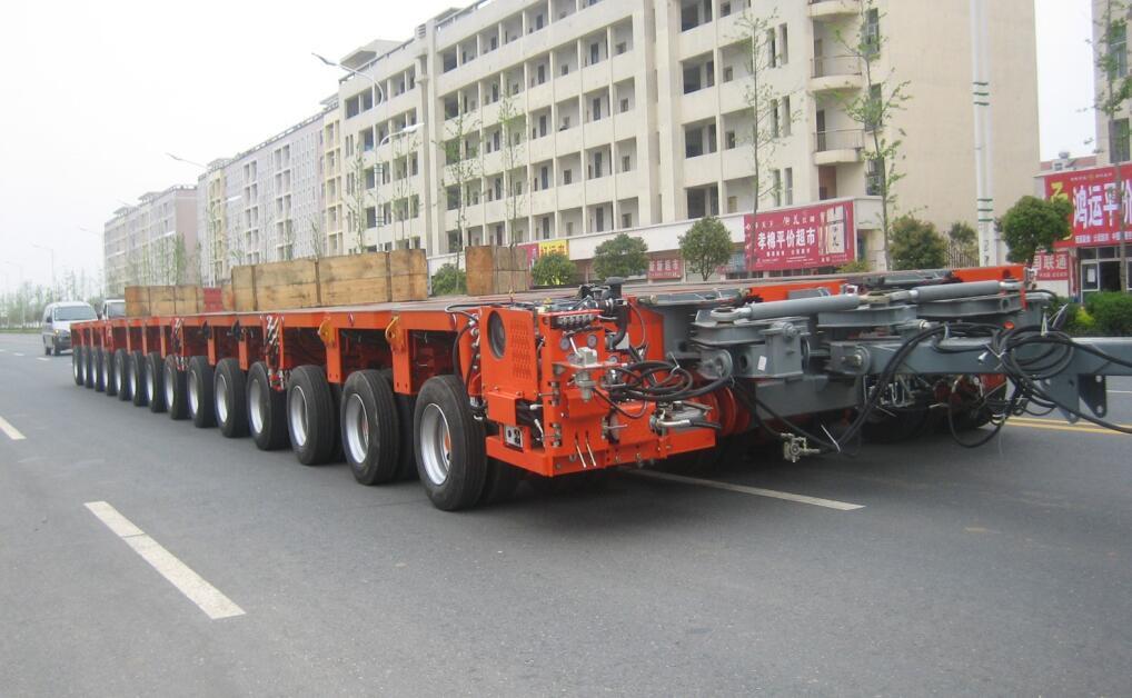 hydraulic multi axle trailers