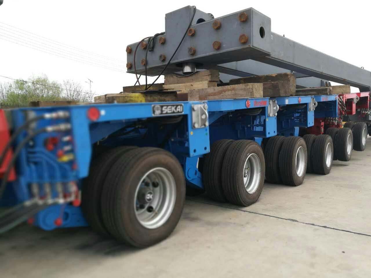 modular trailer for sekai