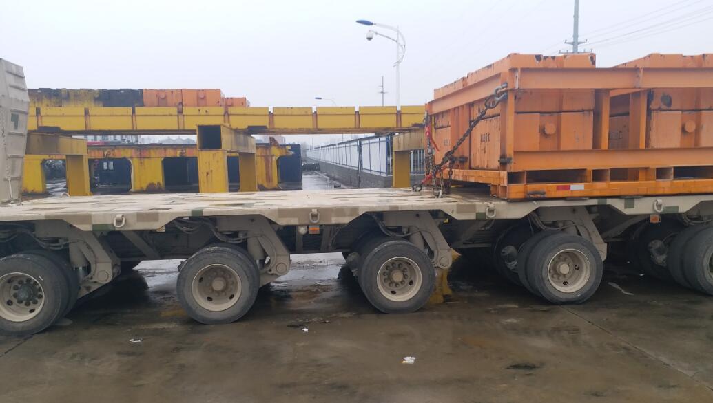 muti axles trailer