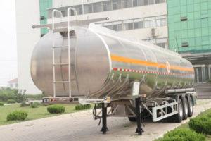 petrol tank trailer