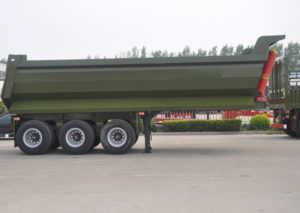 rear tipper trailer