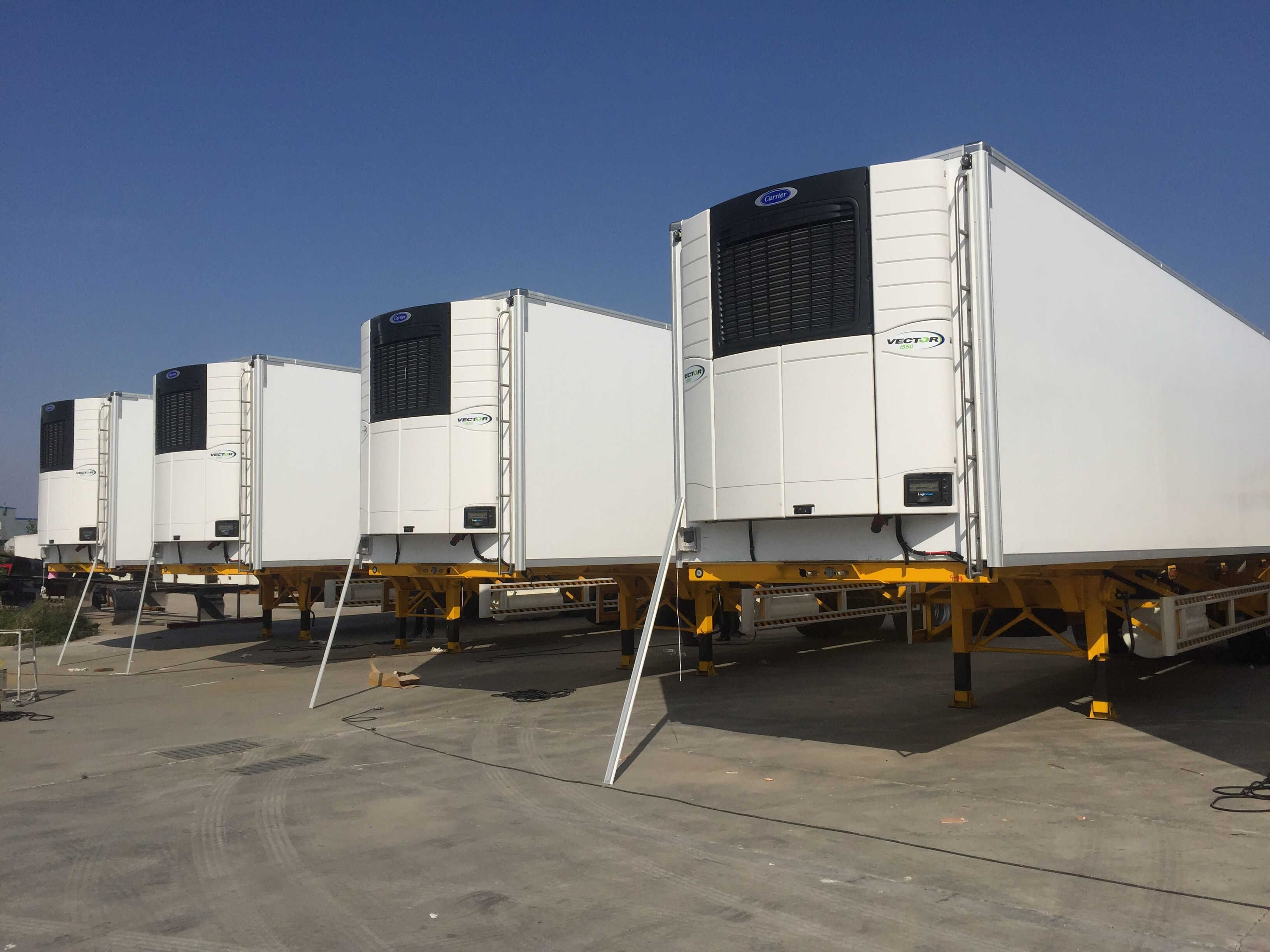 20 40 45ft Refrigerated Dry Vans Trailers For Sale From
