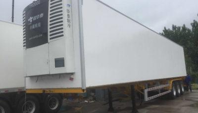 reefer van trailer