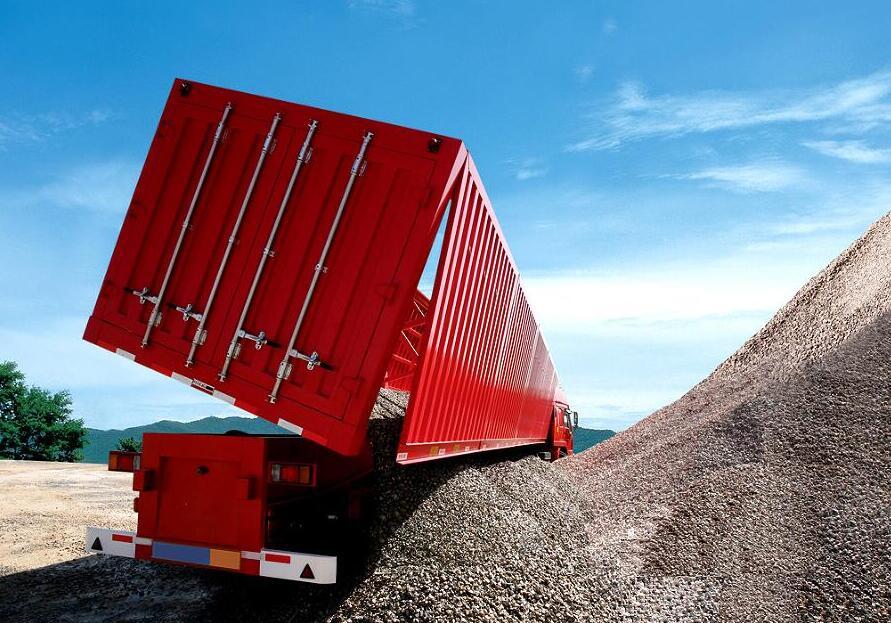 30 40 50 M 179 Side Dump Trailer Tipper Trailer By High