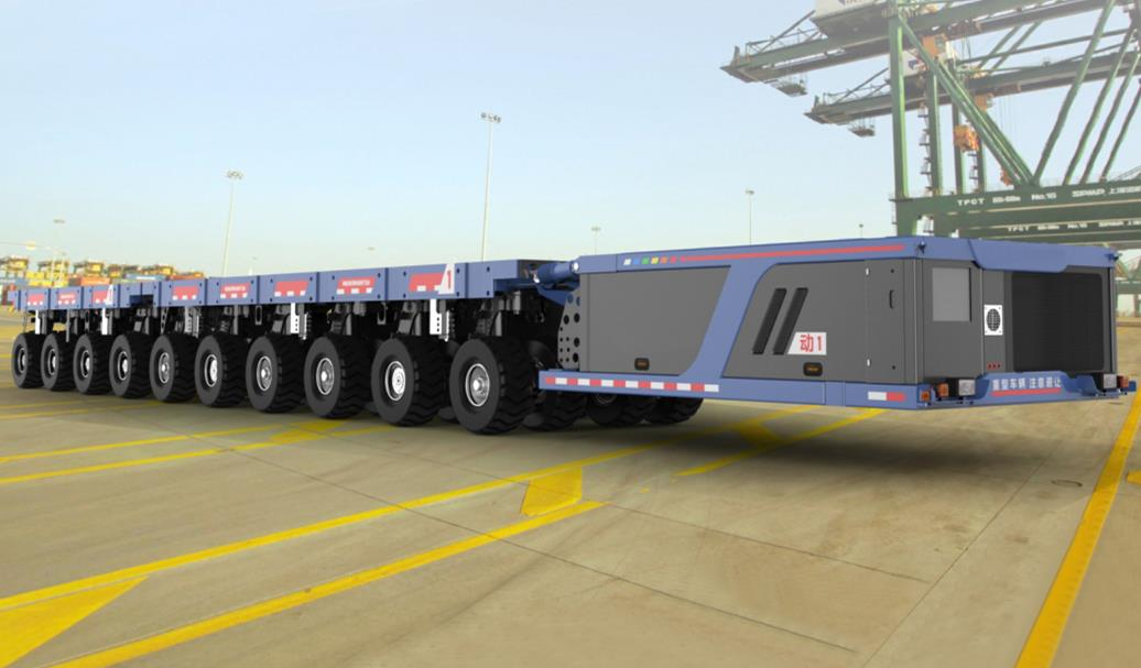Difference Between SPMT (Self-Propelled Modular Transporter) and Modular Trailer