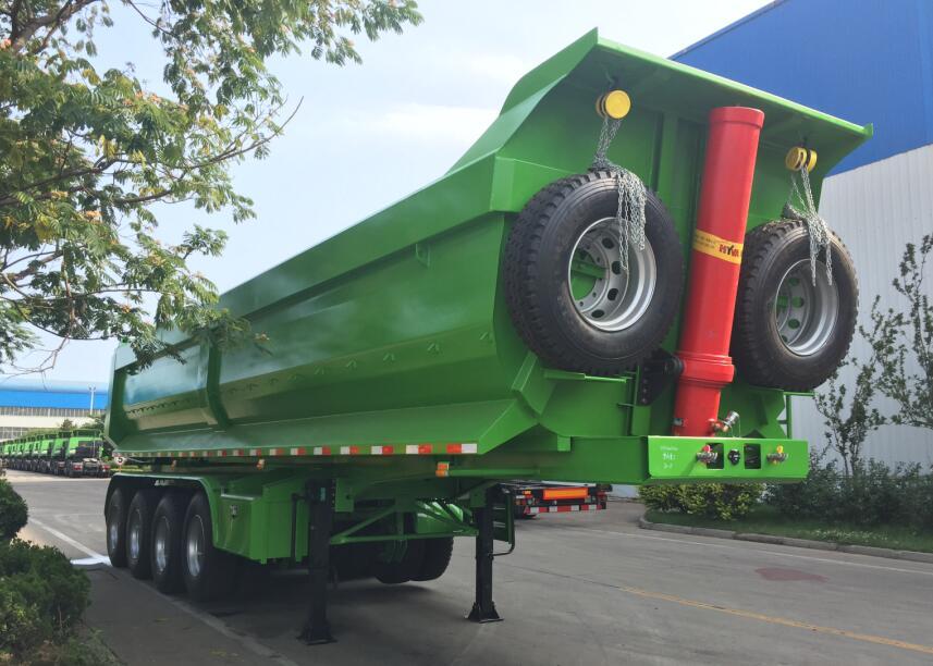 tipping truck trailer