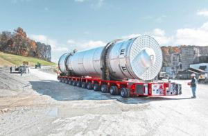 scheuerle modular trailer