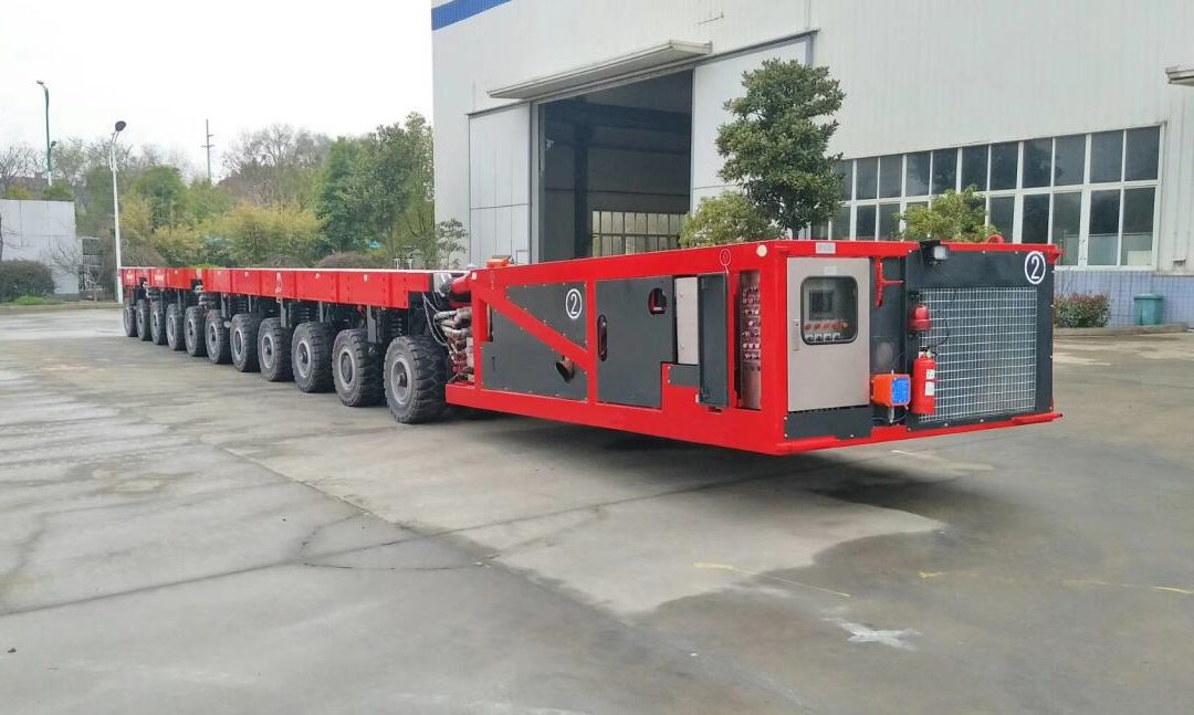 What is SPMT? Learn Basics of Self-Propelled Modular Transporters