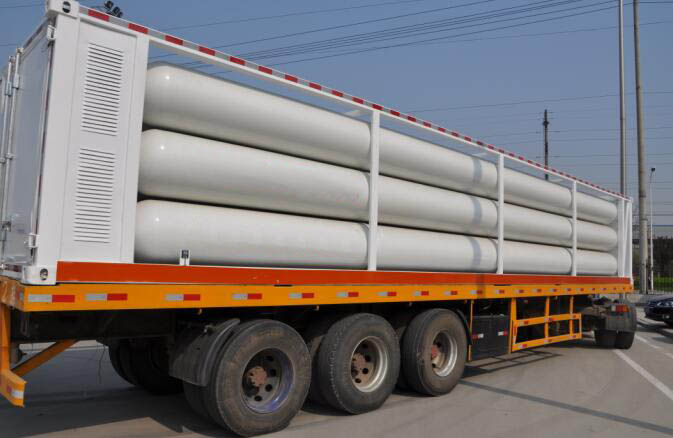CNG Tank Trailer Guide – What is CNG Tubes Trailers? Learn