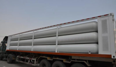 cng tubes container