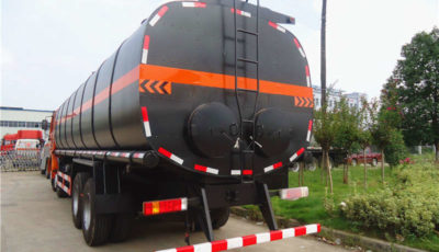coal burner tank trailer