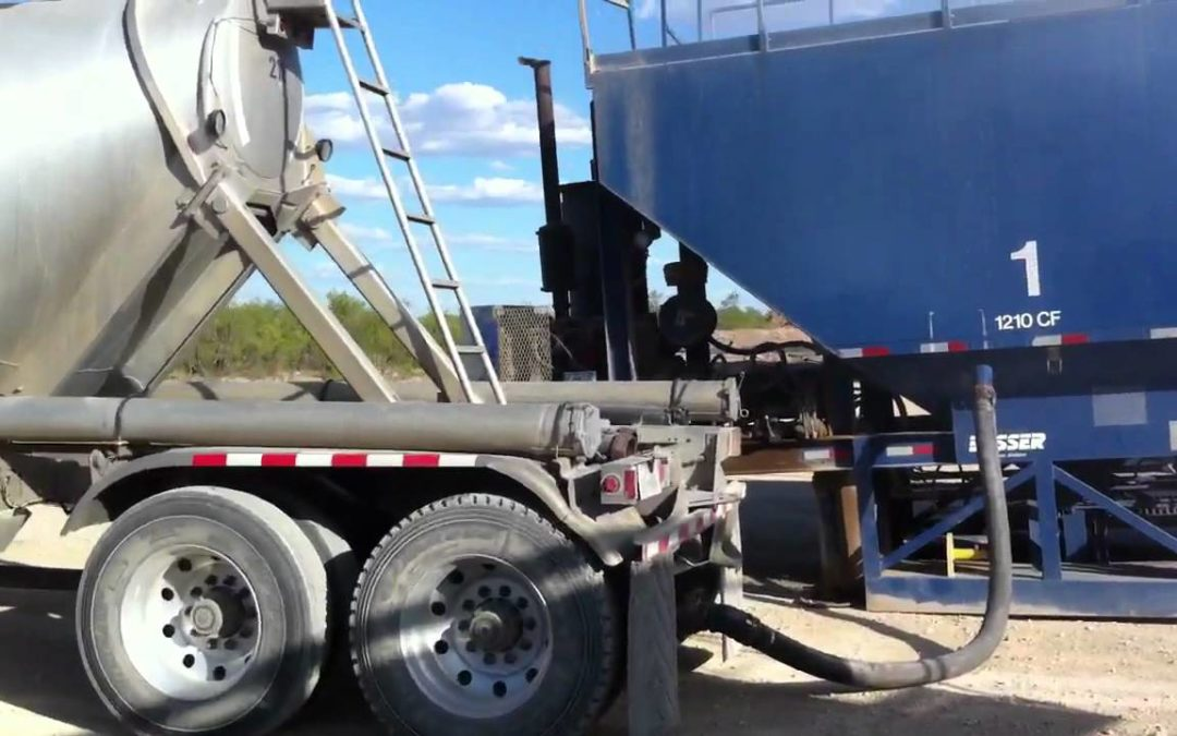 Pneumatic Powder / Cement Trailer Operation – How to Unload Cement Tank Trailer