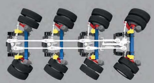 Steering system linkages 2