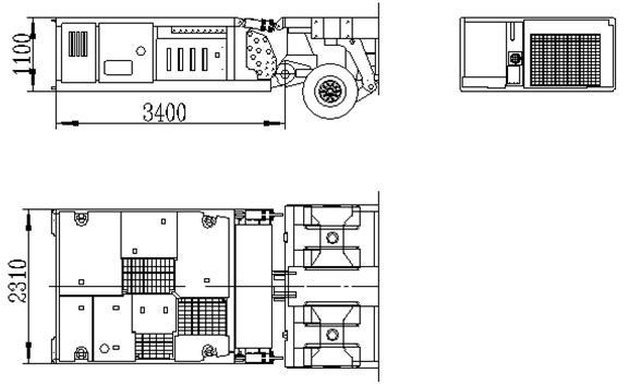 2.43m SPMT PPU 155kw
