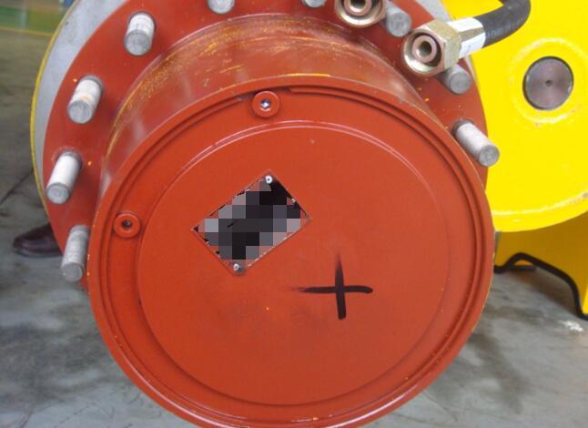 steel handling transporter axle