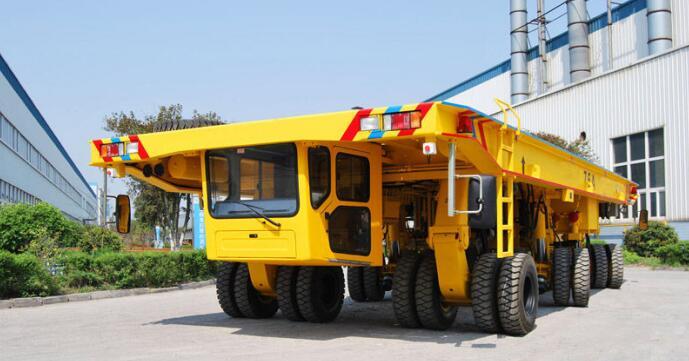 steel handling transporter